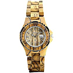 Women Wooden Quartz Watch
