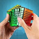 JJWBA MF9 Rubik Cubo 9o Orden Competición Estudiante Intelectual Puzzle Deslizador Puzzle