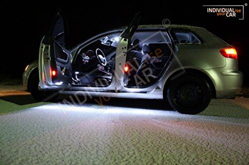 Innenraumbeleuchtung SET für A3 8PA Sportback (Cool-White)