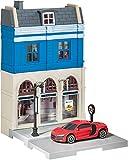 Herpa 800037 City: Bankgebäude mit Audi R8