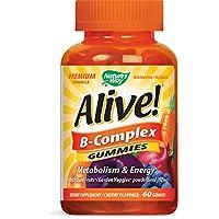 Alive Nature's Way B-complex Gummy 60's