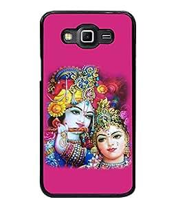 PrintVisa Designer Back Case Cover for Samsung Galaxy Grand 2 :: Samsung Galaxy Grand 2 G7105 :: Samsung Galaxy Grand 2 G7102 :: Samsung Galaxy Grand Ii (Design Statue Background Wallpaper Hindu Art Culture)