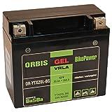Orbis Gel12-20L-BS Motorradbatterie - YTX20L-BS 12 Volt 20 Ah 350 A