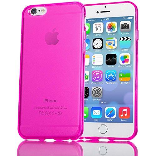 iPhone 6 6S Hülle Handyhülle von NALIA, Ultra-Slim Silikon Case Crystal Schutzhülle Dünn Durchsichtig, Handy-Tasche Back-Cover...