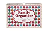 2018 Family Organiser Calendar - One Week to View Planner - Space For up to 5 People by Arpan (2018 - Owls Design)