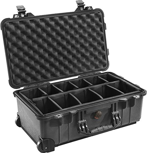 Peli 1514 with Dividers, Black