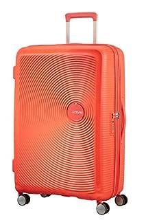 American Tourister Soundbox Spinner Espandibile Bagaglio A Mano, 77 cm, 97/110 L, 4.2 Kg, Arancione (Spicy Peach) (B079M3WSLJ) | Amazon price tracker / tracking, Amazon price history charts, Amazon price watches, Amazon price drop alerts