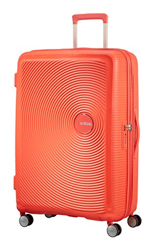 American Tourister - Soundbox Spinner Extensible, 77cm, 97/110 L - 4.2 KG, Vert (Tropical Lime)
