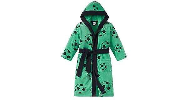 Schiesser Boy\'s Fußball Bademantel Dressing Gown: Amazon.co.uk: Clothing