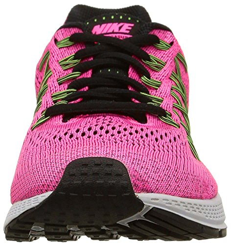 Nike W Air Zoom Pegasus 32 N, Chaussures de Running Entrainement Femme Rose - Rosa (Pink Pow / Blk-Brly Vlt-Ghst Grn)