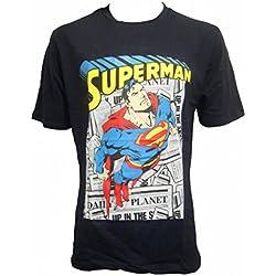 Superman - Camiseta - Manga corta - para hombre Azul azul 54
