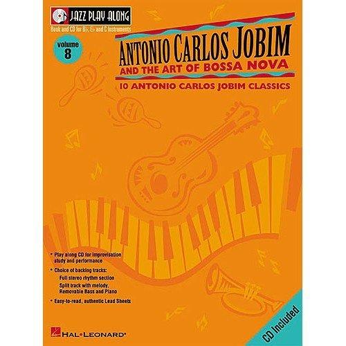 Jazz Play Along: Volume 8 - Antonio Carlos Jobim And The Art Of Bossa Nova. Partitions, CD pour Instruments À Bb, Instruments À C, Instruments À Eb
