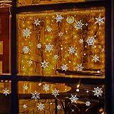 YUHUISTART Adhesivos decorativos de bricolaje extraíbles para vitrinas de Navidad Centro comercial Decoración Centro comercial