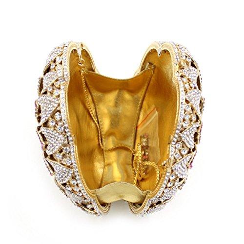 Frauen-Diamant-Abendtasche Luxus High-End-Handtasche A