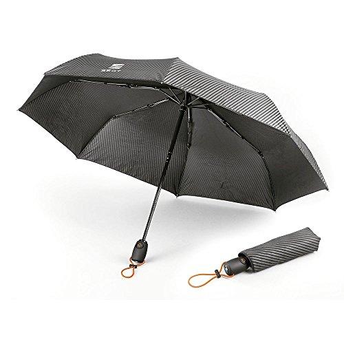 Seat 6H1087600GAA Regenschirm Taschenschirm Schirm Umbrella, schwarz/orange