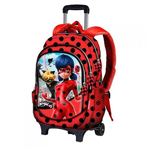 Karactermania-Ladybug-Ladybug-Mochila-infantil-44-cm-Rojo