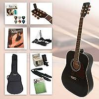 Guitarra Western School para principiantes con accesorios y excelente Guitarra Libro incl. CD