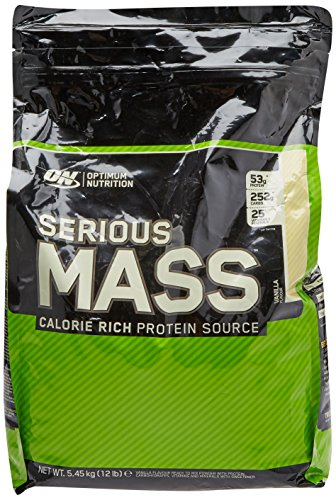 Optimum Nutrition Serious Mass Ganador, Vainilla -