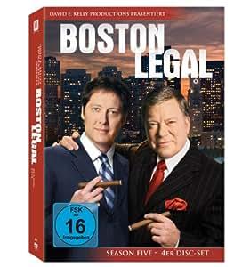 Boston Legal - Season 5 [4 DVDs]