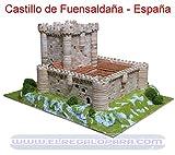 MAQUETA DEL CASTILLO DE LOS VIVERO DE FUENSALDAÑA, 1003. MAQUETAS DE PIEDRA AEDES ARS