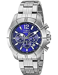 Invicta 21464 Specialty Reloj para Hombre acero inoxidable Cuarzo Esfera azul