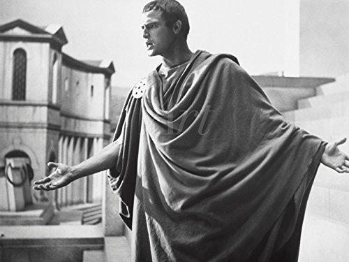 Artland Wandbilder selbstklebend aus Vliesstoff oder Vinyl-Folie Filmszene Julius Caesar, 1953 Film & TV Stars Fotografie Schwarz/Weiß C4YJ