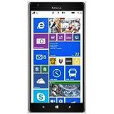 Nokia Lumia 1520 Smartphone (6 Zoll (15,2 cm) Touch-Display, 32 GB Speicher, Windows 8) weiß