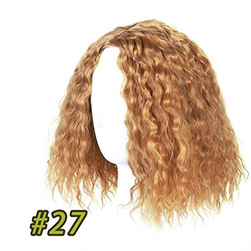 SHANGKE HAIR Schwarze kurze Afro verworrene lockige Perücke natürliche synthetische Haar Kostüm Party hohe Temperatur Faser Cosplay Perücke für Frauen