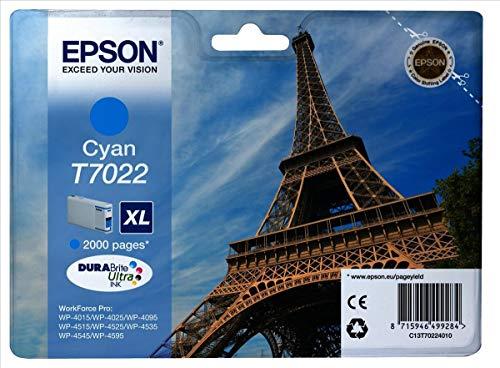 Epson T702240 CIANO Workforce PRO Inkjet / getto d'inchiostro Cartuccia originale