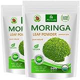 Moringa 500g del foglio polvere, Oleifera Premium Plus cibo prima certificata (2x250g)