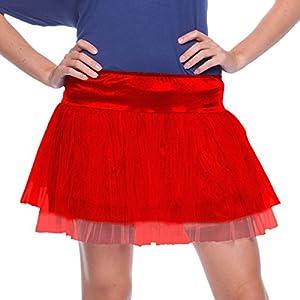 Folat 63682-Red Tutu Mujer-One Size