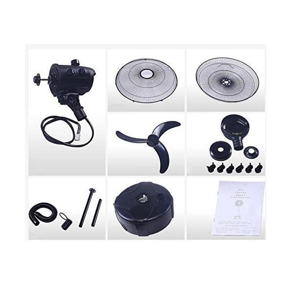 Ventiladores-MEIDUO-Misting-Fan-Premium-Large-High-Velocity-Industrial-Suelo-Negro-Oscilante-3-velocidades-250W-Oscilacin-Funcin