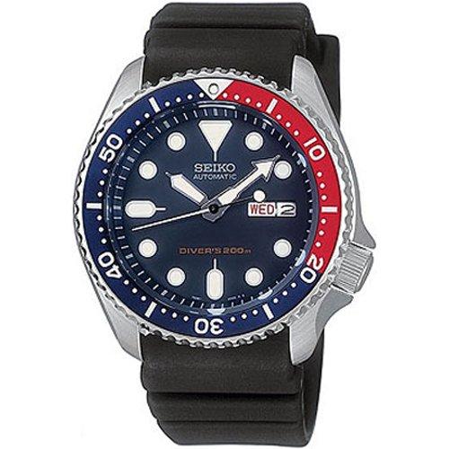 Reloj Seiko SKX009K1 de caballero automático con correa negra - sumergible  a 200 metros de Seiko 7b6e3fb22c61
