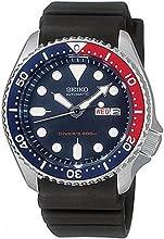Comprar Seiko SKX009K1 - Reloj analógico de caballero automático con correa negra - sumergible a 200 metros