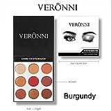 Eye Shadow Lidschatten Jamicy® Mode 9 Farben Matte langlebige bunte Lidschatten Lidschatten Presse Pulver Kosmetik Make-up Set (B)