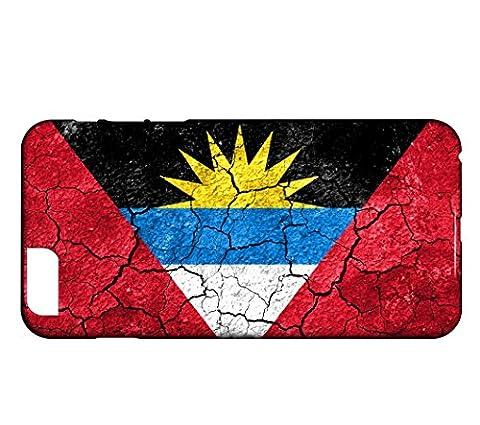 Schutzhülle für iPhone PLUS 7+ Flagge ANTIGUA UND BARBUDA 03