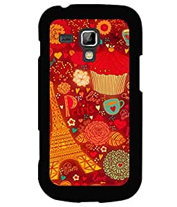 printtech Paris Chocolate Gift Back Case Cover for Samsung Galaxy S Duos 2 S7582