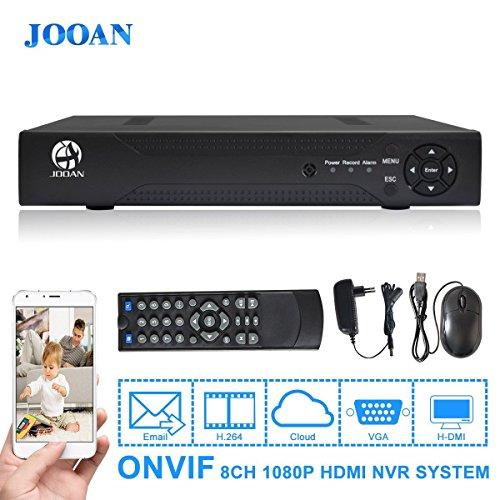 JOOAN 7218N di rete video NVR 8-kannal per la sorveglianza l'apparecchio P2P clouid Service VGA e HDMI HD-monitoring Supporto ONVIF