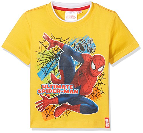 hirt Multicolor Web, Gelb (Gelb), 4 Jahre (Gelbe Spiderman)