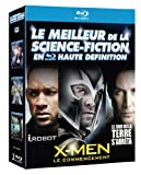 Le Meilleur de la science-fiction en haute définition : I, Robot + Le jour où la terre s'arrêta + X-Men : Le commencement [Blu-ray] [Import italien]
