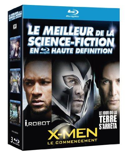 Le Meilleur de la science-fiction en haute définition : I, Robot + Le jour où la terre s'arrêta + X-Men : Le commencement [ 3 Blu-ray] [Import italien]