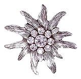 Moschen-Bayern Magnet-Spange Tuchclip Tuchspange Trachtenspange Schalclip Trachtenbrosche Silber Tracht