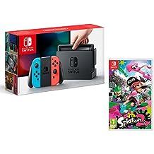 Nintendo Switch 32gb azul/rojo neón + Splatoon 2