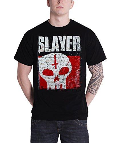 Attitude Kids Sweatshirt (Slayer T Shirt Undisputed Attitude Skull band logo Nue Herren Schwarz Shirt)