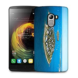 Snoogg Small Islands Designer Protective Phone Back Case Cover For Lenovo Vibe K4 Note