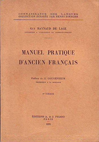 Manuel pratique d'ancien franais