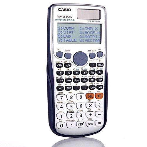 Casio fx991es plus calcolatrice (calcolatrice tecnico-scientifica, con 417funzioni)