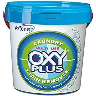 Astonish Laundry Multi-purpose Oxy Plus Stain Remover Cleaner Tub 1kg