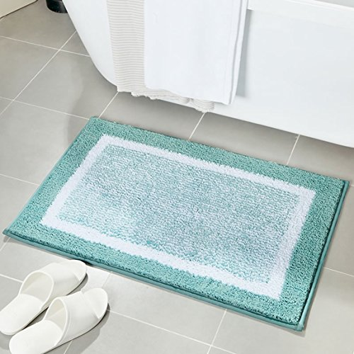 LRW Badezimmer Wasserdichte Matte Eingangshalle Home Kissen Küche Wc Mat Boden Mat (Color : B, Size : 50x80cm)