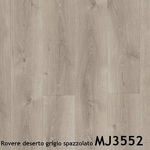 Pavimento in laminato Quick Step | MAJESTIC Prezzo per pacco da 2,952m² (Rovere deserto grigio spazzolato MJ3552)
